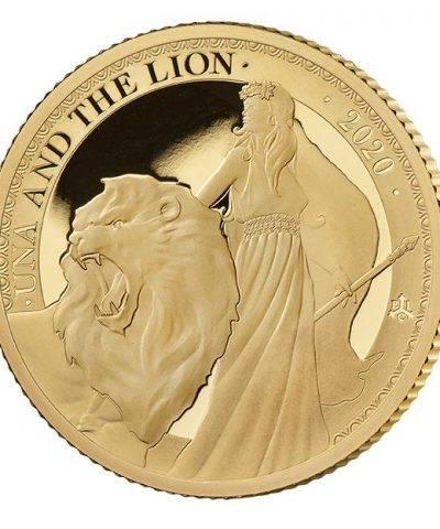 2020 Una & the Lion ¼ oz Gold Proof