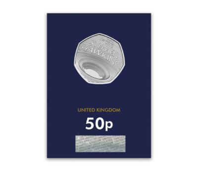 2019 Stephen Hawking UK 50p BU – CC
